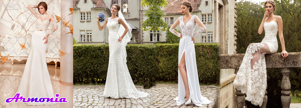 New collection of wedding dresses 2019
